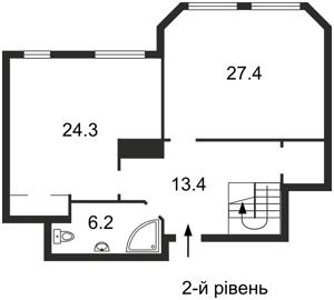 Квартира Коновальца Евгения (Щорса), 32б, Киев, E-29801 - Фото 3