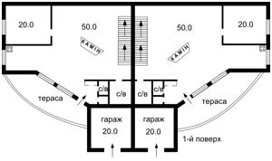 Дом Григоровка (Обуховский), F-28772 - Фото 2