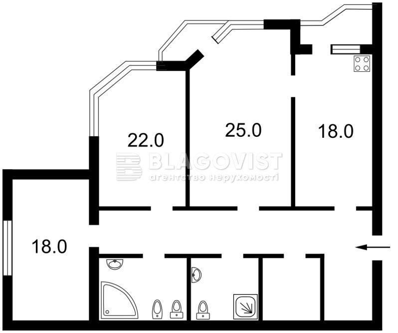 Квартира Z-1204276, Коперника, 12д, Киев - Фото 2
