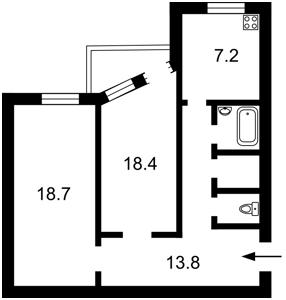 Квартира Стрелецкая, 28, Киев, Z-1208696 - Фото2