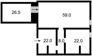 Нежилое помещение, Гусовского Сергея, Киев, Z-1207352 - Фото2