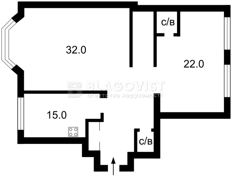 Квартира Z-1202778, Гончара Олеся, 26, Киев - Фото 3