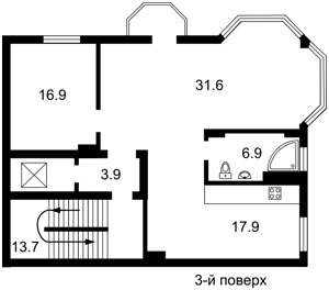 Дом, E-30514, Локомотивная, Киев - Фото 3