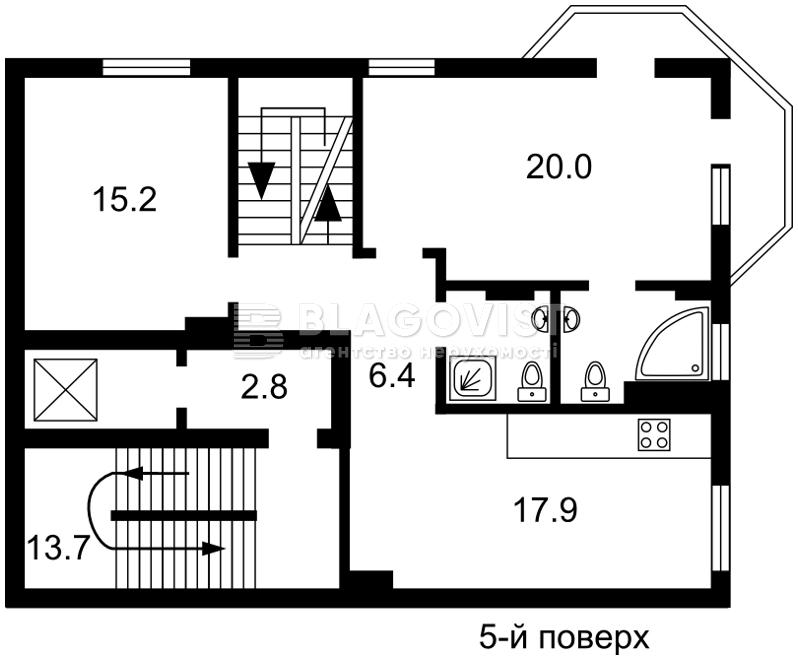 Дом, E-30514, Локомотивная, Киев - Фото 5
