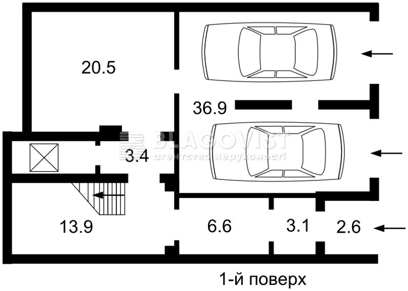 Будинок, E-30514, Локомотивна, Київ - Фото 1