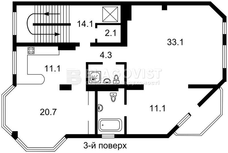 Будинок, E-30513, Локомотивна, Київ - Фото 5
