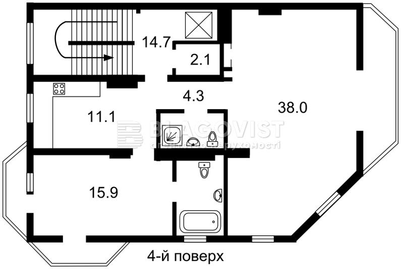 Будинок, E-30513, Локомотивна, Київ - Фото 6