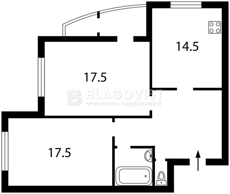 Квартира Z-1162059, Григоренко Петра просп., 28в, Киев - Фото 2