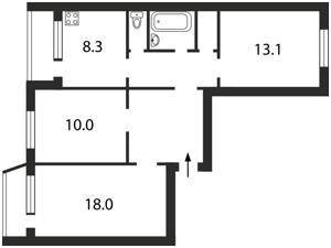 Квартира Полярная, 6, Киев, Z-1204242 - Фото2