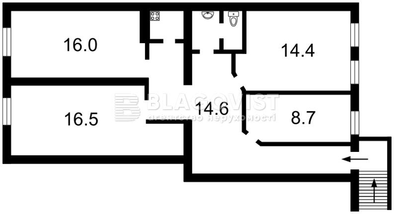 Нежитлове приміщення, Z-1132843, Пушкінська, Київ - Фото 6