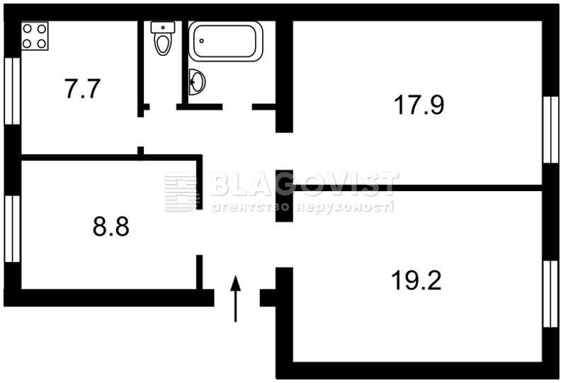 Нежилое помещение, G-34008, Волошская, Киев - Фото 3