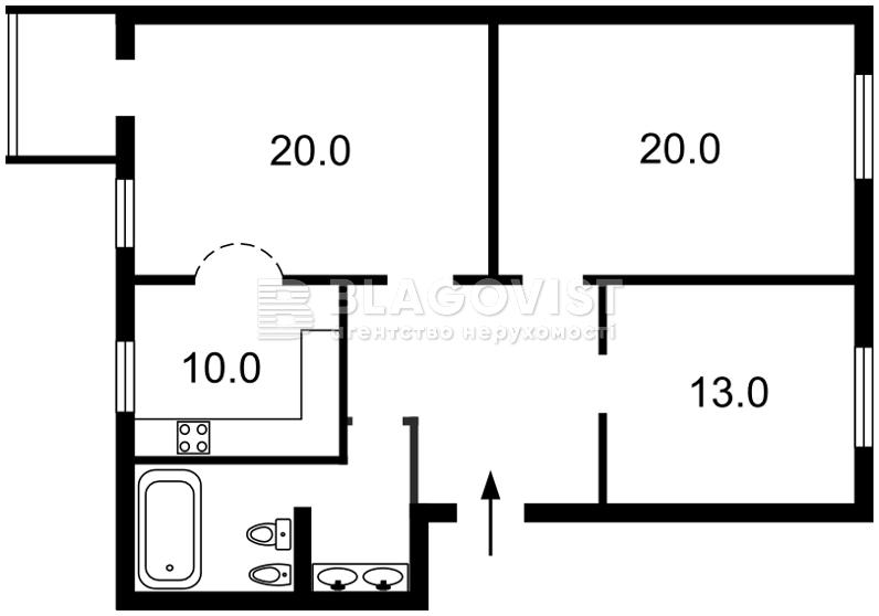Квартира Z-1241144, Толстого Льва, 25, Киев - Фото 4