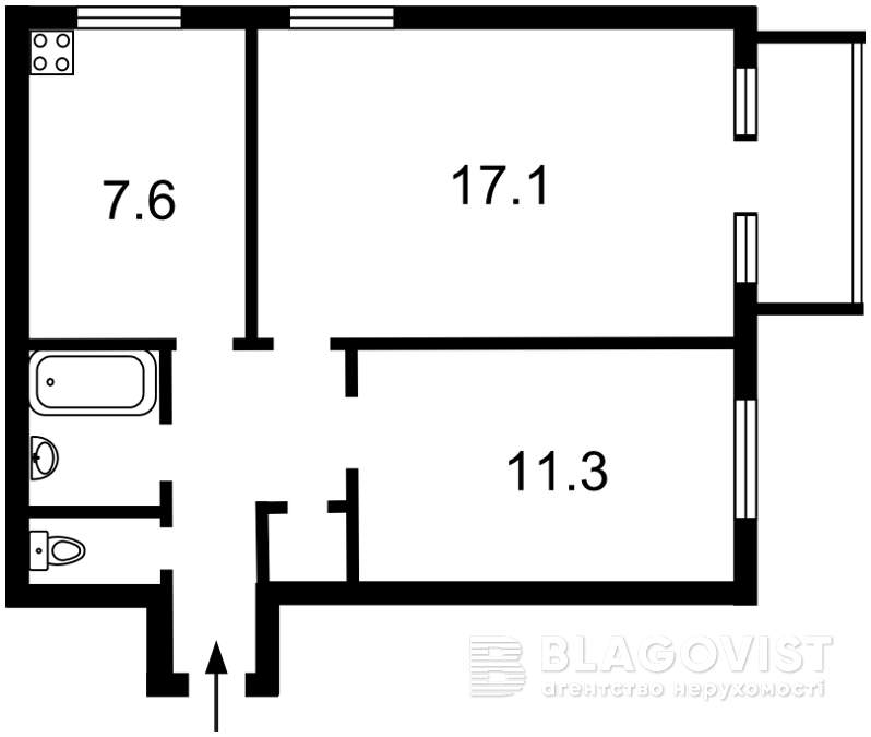 Квартира Z-1219038, Пимоненко Николая, 12, Киев - Фото 3