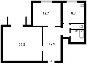 Квартира Сечевых Стрельцов (Артема), 33а, Киев, X-4521 - Фото2