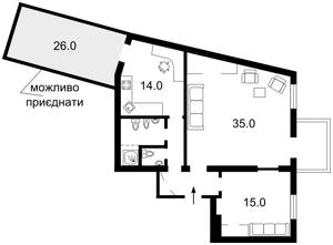 Квартира Володимирська, 5, Київ, Z-1195708 - Фото2