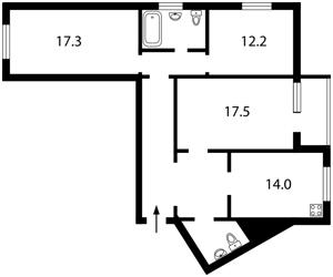 Квартира Правды просп., 31а, Киев, Z-1255847 - Фото2