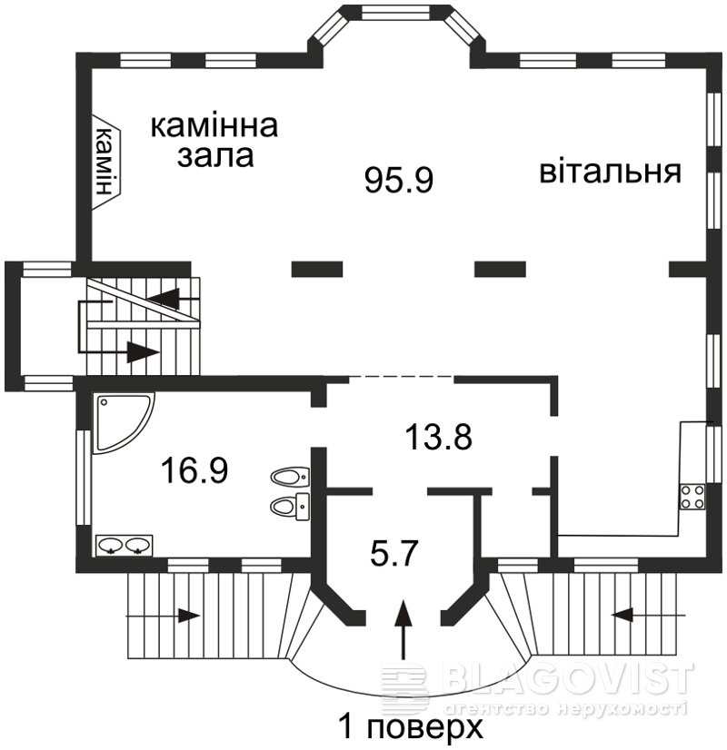 Будинок Z-705669, Дружня, Київ - Фото 7