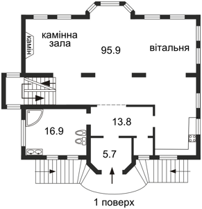 Будинок Дружня, Київ, Z-705669 - Фото 3
