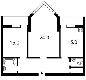 Квартира Бульварно-Кудрявская (Воровского) , 11а, Киев, Z-1253684 - Фото2