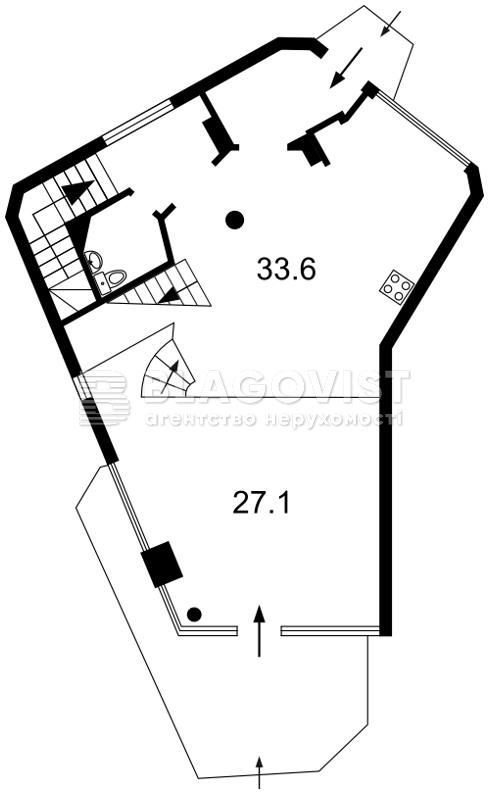 Квартира O-20363, Лукьяновский пер., 11а, Киев - Фото 3