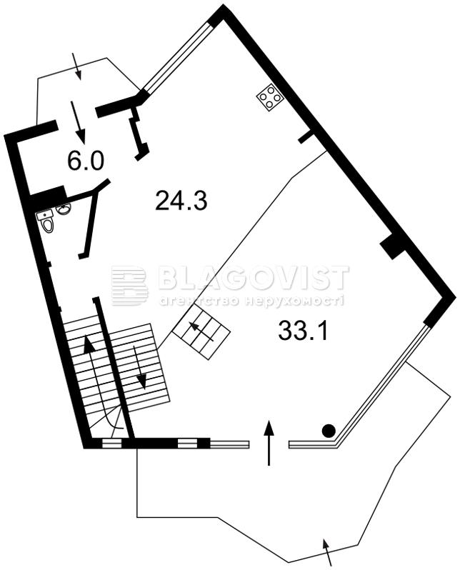 Квартира O-20366, Лук'янівський пров., 11д, Київ - Фото 3