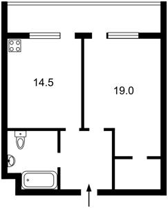 Квартира E-31266, Драгомирова Михаила, 14, Киев - Фото 3