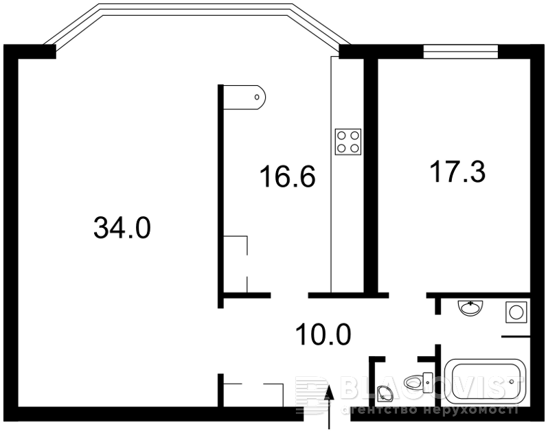Квартира F-29741, Тычины Павла просп., 2, Киев - Фото 4