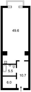 Квартира Мічуріна, 56/2, Київ, D-25858 - Фото2