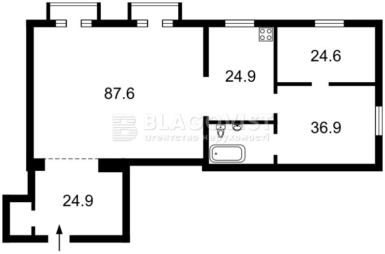 Квартира D-25854, Мичурина, 56/2, Киев - Фото 2
