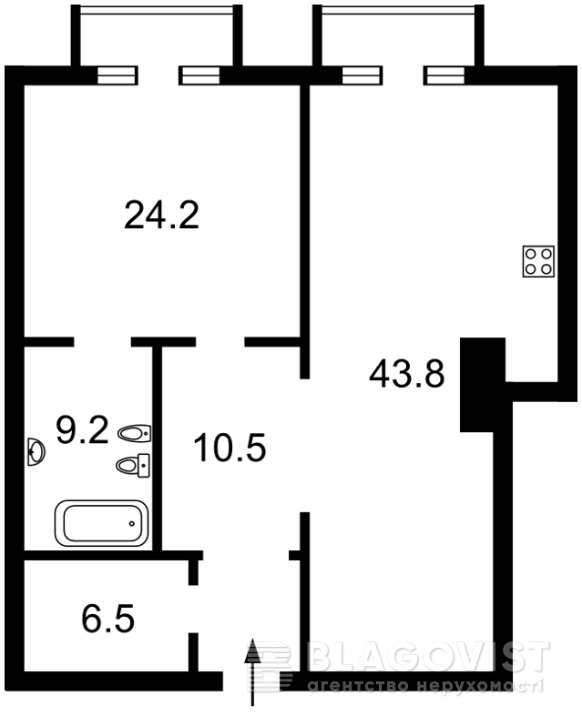 Квартира D-25853, Мичурина, 56/2, Киев - Фото 2