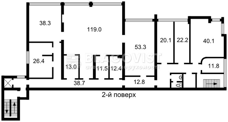 Торгово-офісне приміщення, Z-1182335, Западинська, Київ - Фото 4