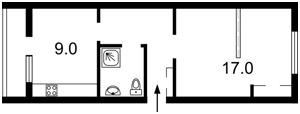 Квартира Лобановського, 29, Чайки, F-29829 - Фото 2
