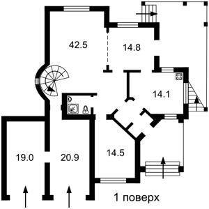 Будинок Синьоозерна, Київ, F-29303 - Фото1