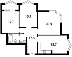 Квартира Хрещатик, 4, Київ, B-87165 - Фото2