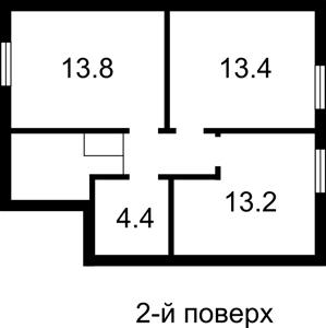 Дом Ярослава Мудрого, Петропавловская Борщаговка, Z-1316519 - Фото 2