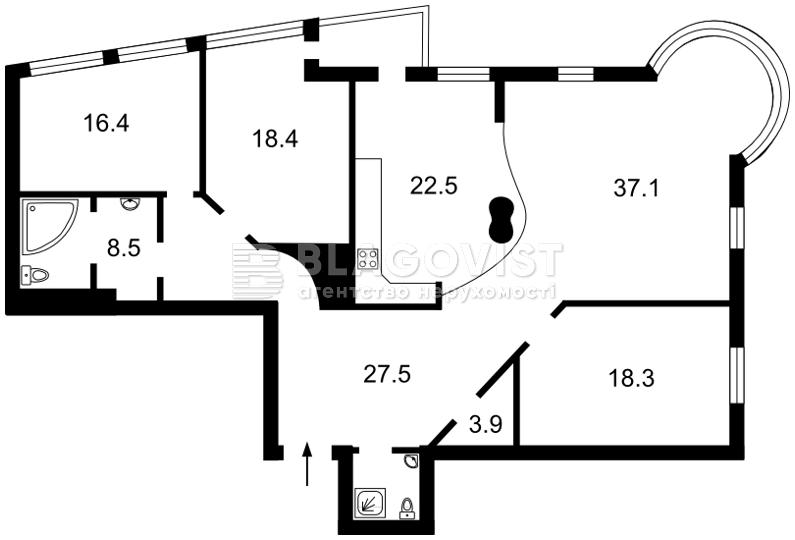 Квартира C-100947, Ковпака, 17, Київ - Фото 5