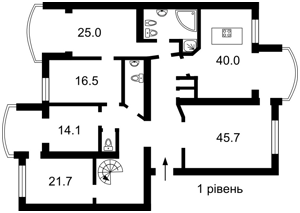 Квартира Героїв Сталінграду просп., 10а, Київ, Z-755408 - Фото2