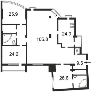 Квартира H-30621, Бульварно-Кудрявская (Воровского), 36, Киев - Фото 5