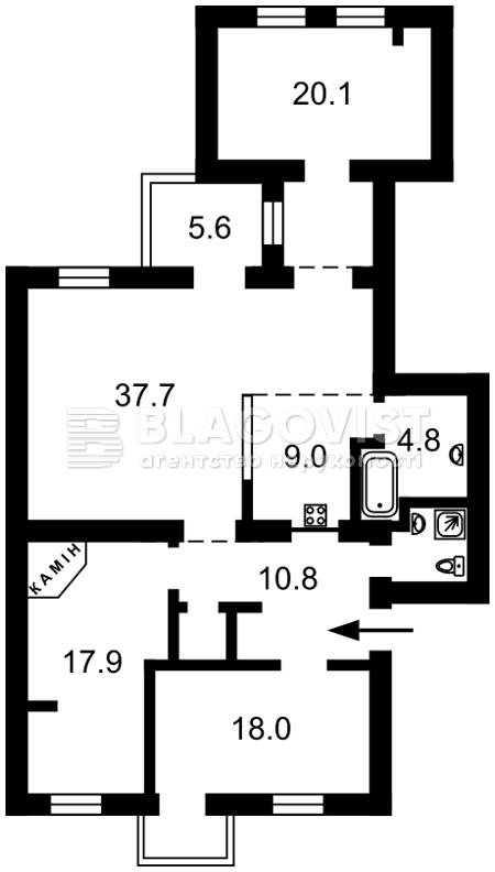 Квартира F-29871, Дмитриевская, 35а, Киев - Фото 3