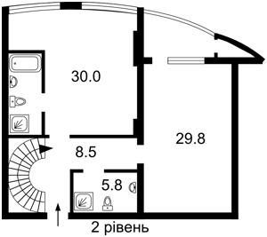 Квартира Перемоги просп., 131, Київ, F-30145 - Фото 3