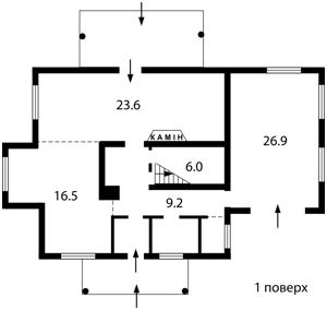 Дом Даниловка, M-10695 - Фото 1
