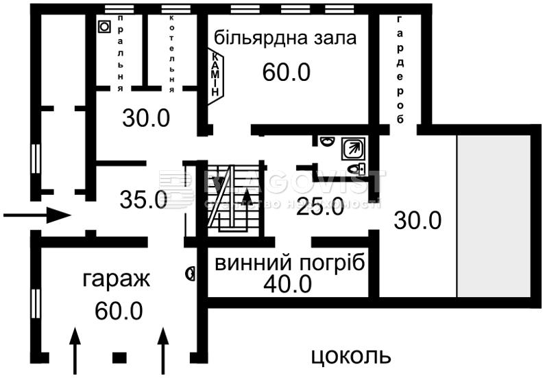Дом B-72018, Старокиевская, Козин (Конча-Заспа) - Фото 3