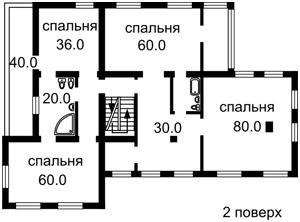 Дом B-72018, Старокиевская, Козин (Конча-Заспа) - Фото 5