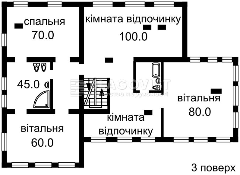 Дом B-72018, Старокиевская, Козин (Конча-Заспа) - Фото 6