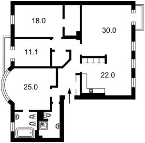 Квартира Толстого Льва, 39, Киев, F-30406 - Фото 2