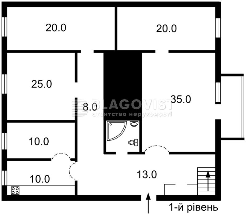 Квартира X-6710, Антоновича (Горького), 20б, Киев - Фото 2