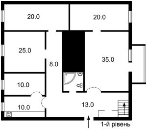 Квартира Антоновича (Горького), 20б, Киев, X-6710 - Фото 2