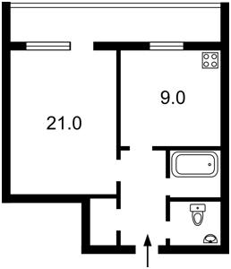 Квартира Бориспольская, 12, Киев, Z-1286566 - Фото2
