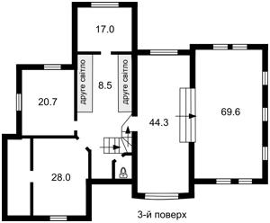 Дом Козин (Конча-Заспа), M-15320 - Фото 3