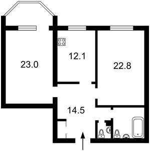Квартира Героев Сталинграда просп., 26а, Киев, X-7745 - Фото2
